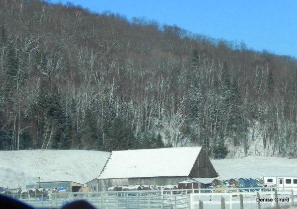 Une petite couche de neige