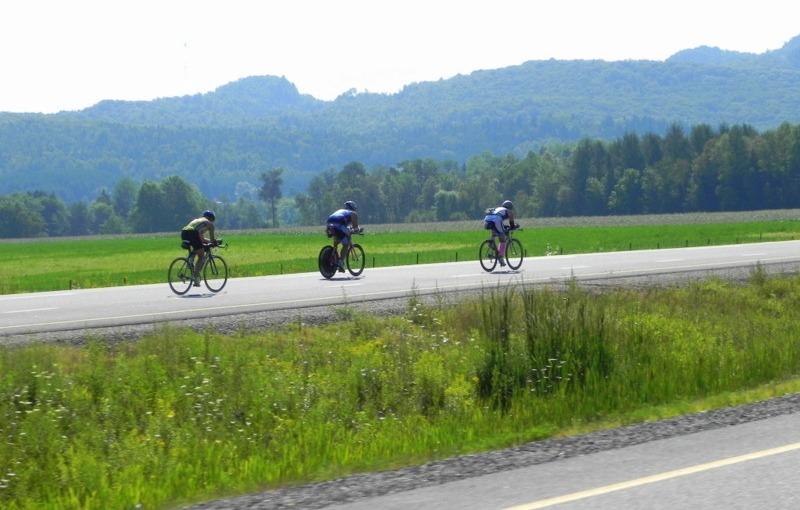 Ironman Tremblant (Vélos à la volée!)
