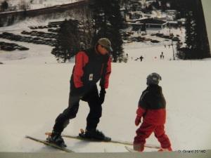 Caro 8 ans hiver 1999