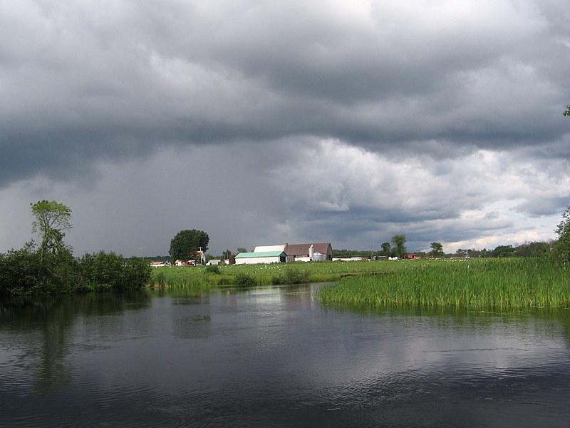 chalet rivière