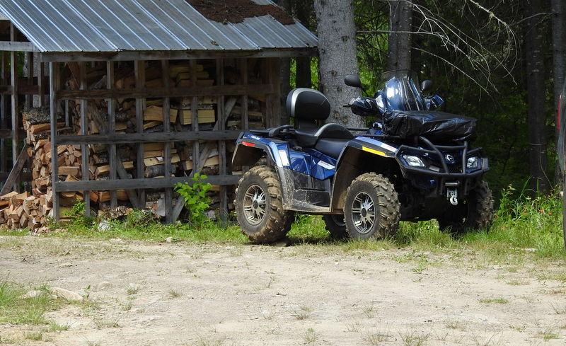 Lac Minomaquam 4 roues
