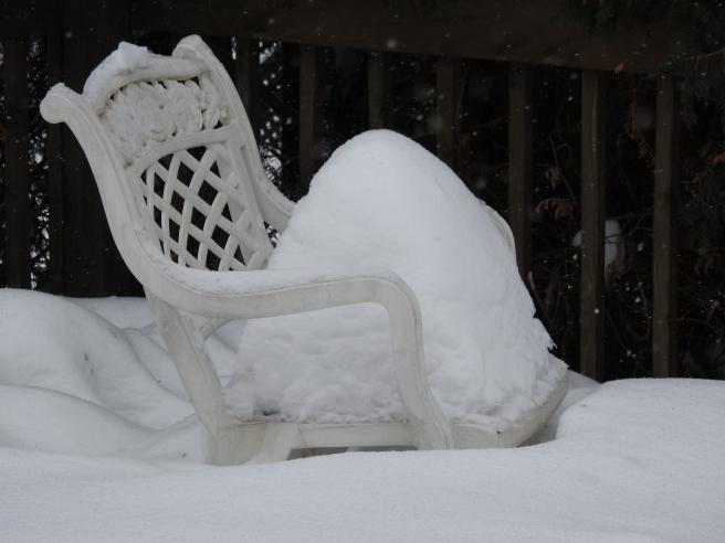 chaise hiver enceinte