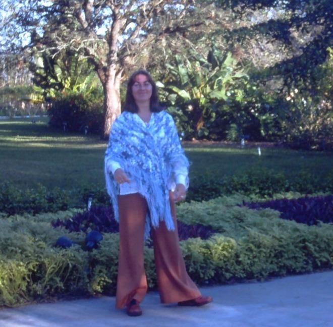 1976 souvenir floride pantalon éléphant